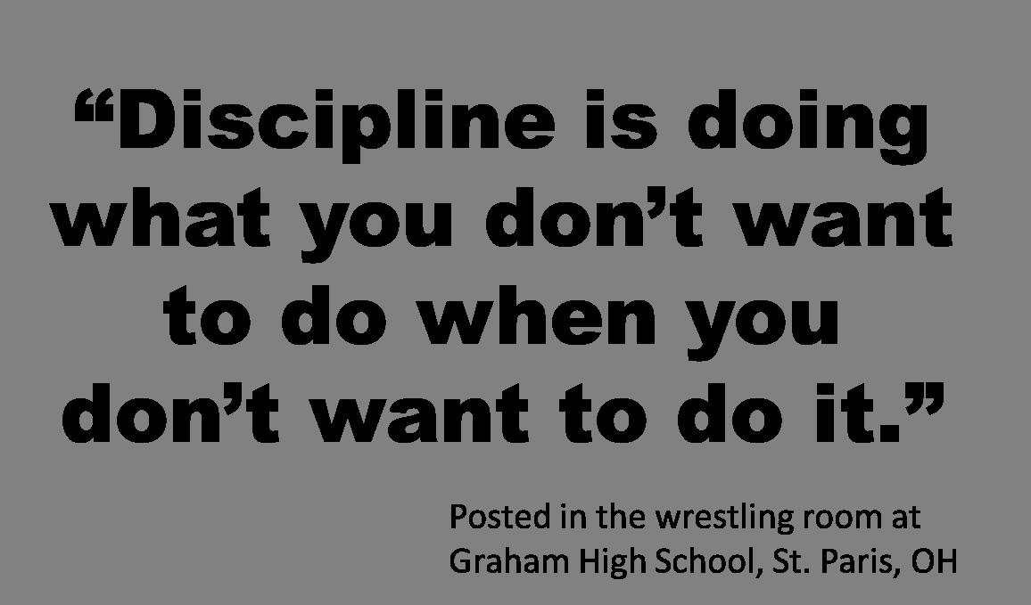 Importance of discipline in school life