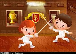 girl fighting boy