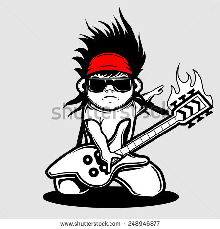 stock-vector-kid-rockstar-248946877