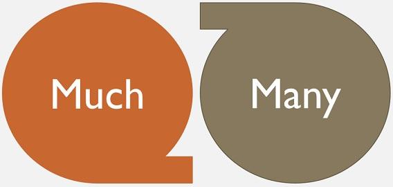 much-vs-many